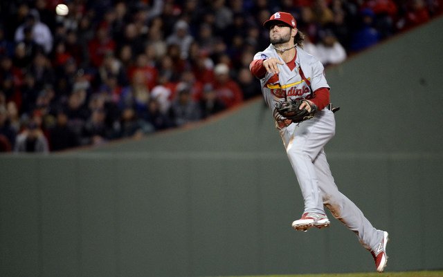 Replacing Pete Kozma figures to be atop the Cardinals' offseason agenda.