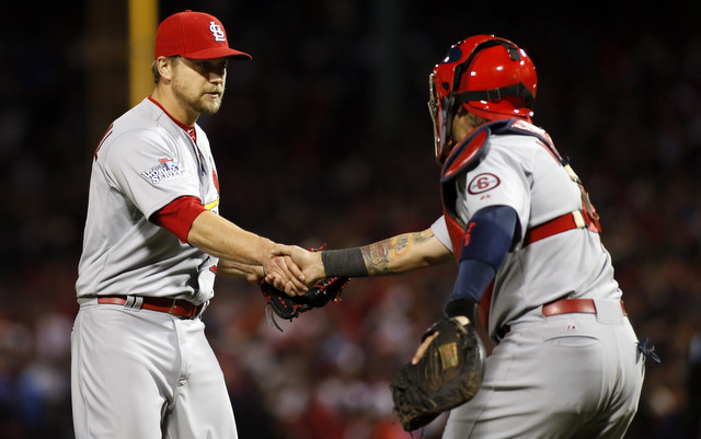 Trevor Rosenthal is the latest new closer to help the Cardinals to the Fall Classic.