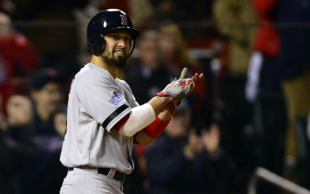 Shane Victorino is back in the Red Sox lineup for Game 6.