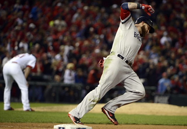 Jonny Gomes was the hero in the Red Sox Game 4 win.