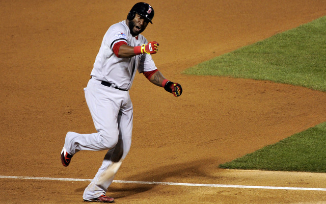 David Ortiz is batting .727 through the first four games of the Fall Classic.