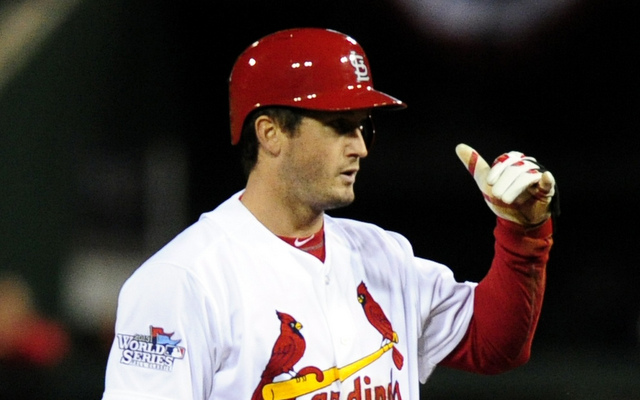 David Freese's time with the Cardinals has come to an end.