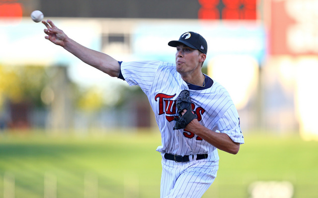 Alex Meyer is safe bet to pitch in the big leagues in 2014.