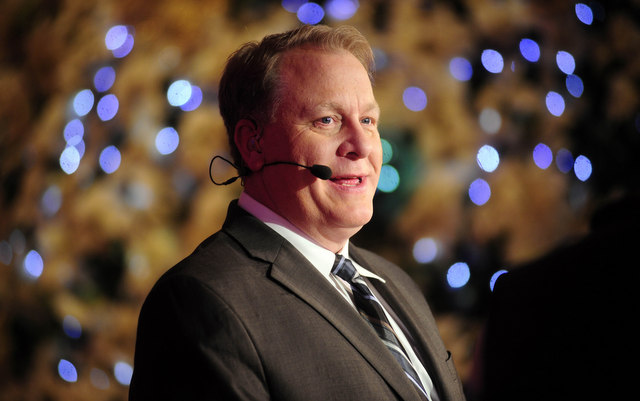Curt Schilling at the 2013 Winter Meetings.
