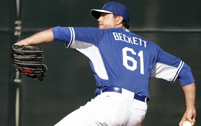 Josh Beckett will return to the mound this weekend after missing almost all of 2013.