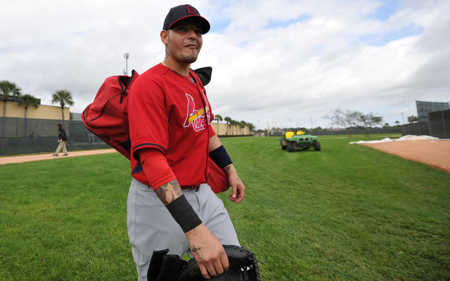Yadier Molina looks ready for another 130+ games behind the plate.