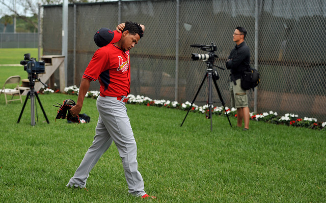 Carlos Martinez will spend the spring working as a starting pitcher.