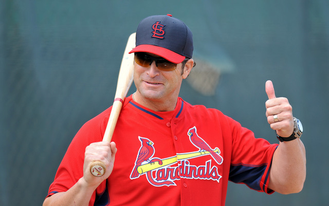 Handsome Mike Matheny gives his approval.