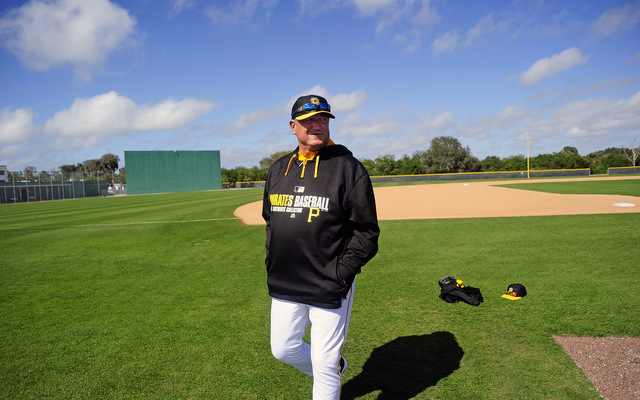Reigning NL Manager of the Year Clint Hurdle likes what he sees.