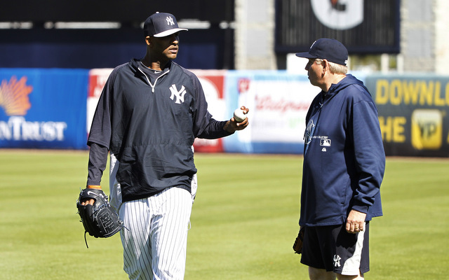 CC Sabathia, meanwhile, shed some serious weight this winter.