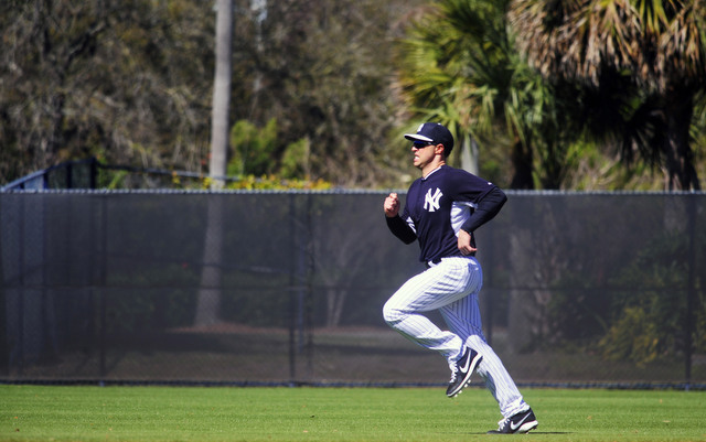 Mark Teixeira is slowly working his way back from wrist surgery.