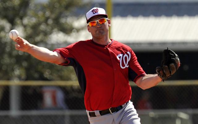Ryan Zimmerman's shoulder is arthritic.