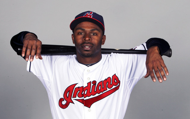 The Indians will be without Michael Bourn to start the season.