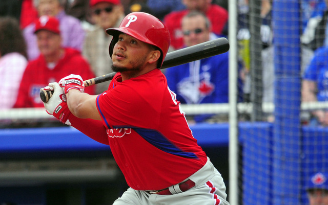The Phillies will be without Freddy Galvis to start the season.