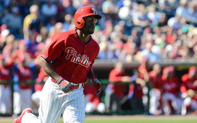 Jimmy Rollins and Ryne Sandberg seem to be started the year off on the wrong foot.