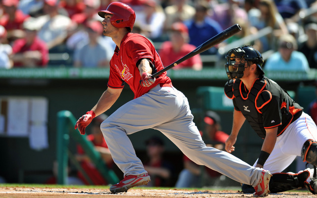 The Cardinals are hoping Randal Grichuk will improve their struggling, powerless lineup.