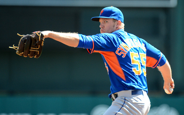 Noah Syndergaard is the latest young pitcher to have an elbow problem.