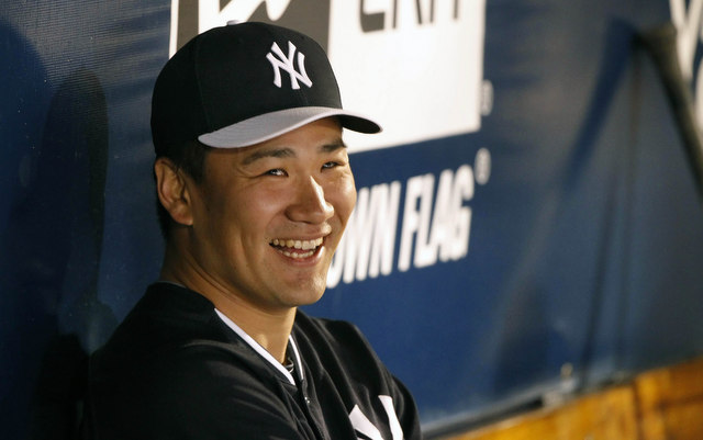 Masahiro Tanaka's second spring appearance went well on Thursday.