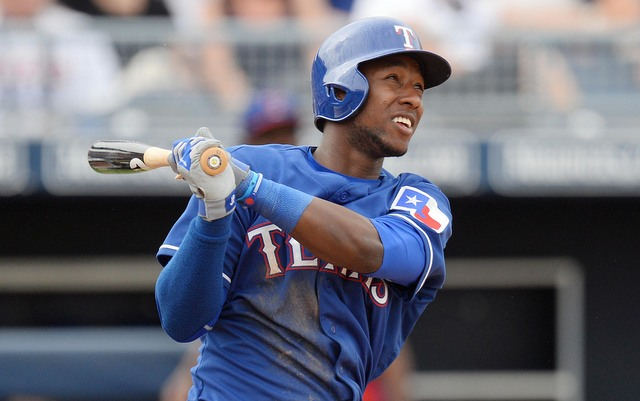 Jurickson Profar and his sore shoulder are close to returning to the field.