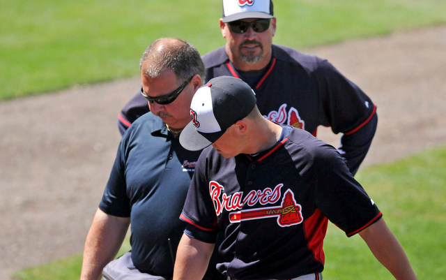 Kris Medlen is heading for more tests on his injured elbow.