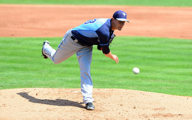 Jake Odorizzi has a spot in the Rays' opening day rotation.