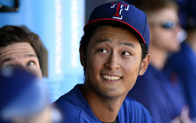 There is nothing serious going on in Yu Darvish's neck.