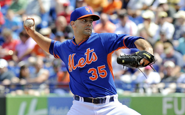 Dillon Gee is in line to be the Mets' opening day starter.