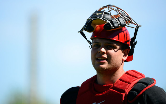 Devin Mesoraco is the latest Red to come down with an injury this spring.