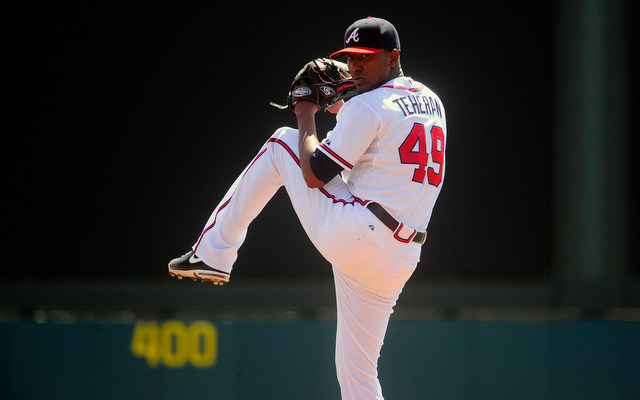 Julio Teheran is getting the ball on opening day for the Braves.
