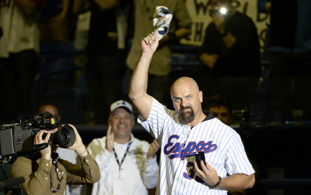 Larry Walker is on the Hall of Fame ballot for the sixth time.