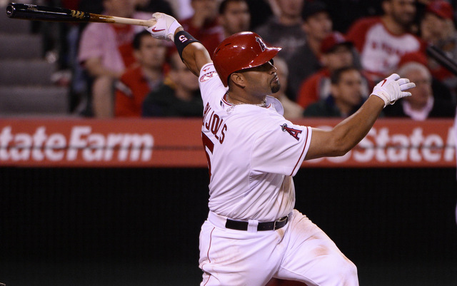 Where does Albert Pujols rank on the home run leaderboard over the last 40 years?