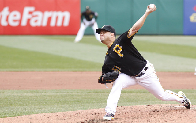 The Pirates will be without lefty Wandy Rodriguez for at least two weeks.