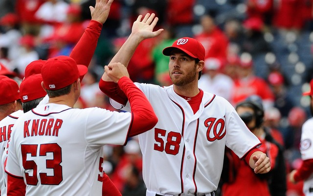 The Nationals are close to having Doug Fister join the rotation.