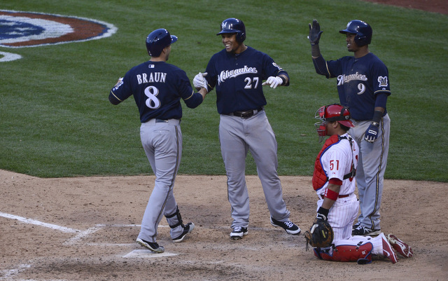 Braun, Gomez and Segura are three reasons the Brewers have baseball's best record.