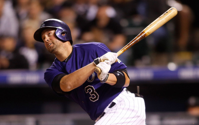 Michael Cuddyer is the seventh Rockie to hit for the cycle.