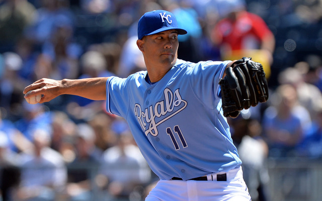 Jeremy Guthrie became the latest Royals' starter to turn in a gem on Wednesday.