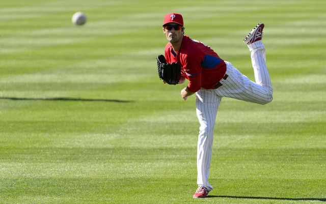 The Phillies are expected to get Cole Hamels back next week.