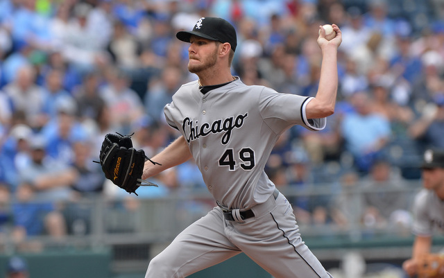 Chris Sale is close to rejoining the White Sox