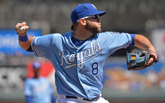 Mike Moustakas finds himself back in the minors.