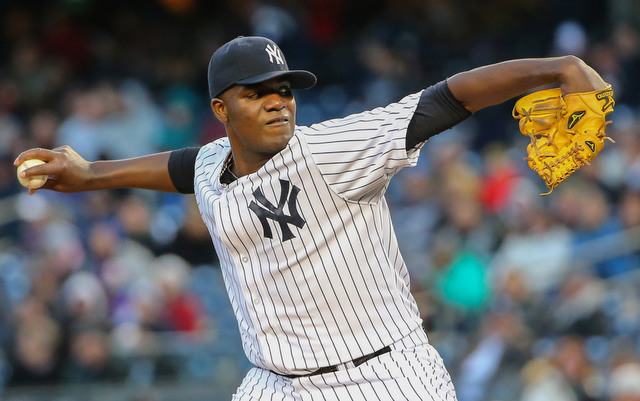 The Yankees are being careful with Michael Pineda early in 2014.