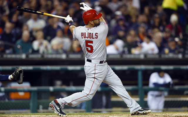 Albert Pujols went deep for the 497th time on Friday.