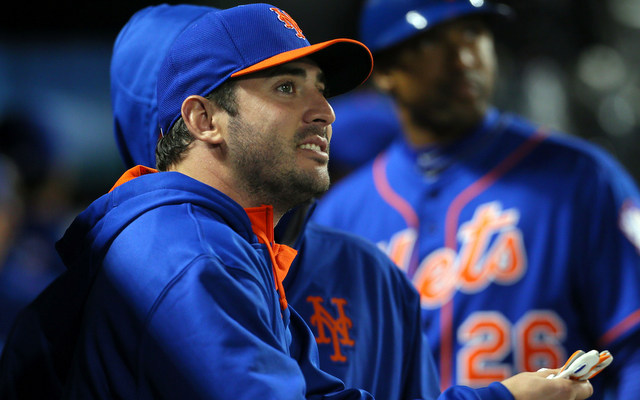 The Mets are slowing down Matt Harvey.