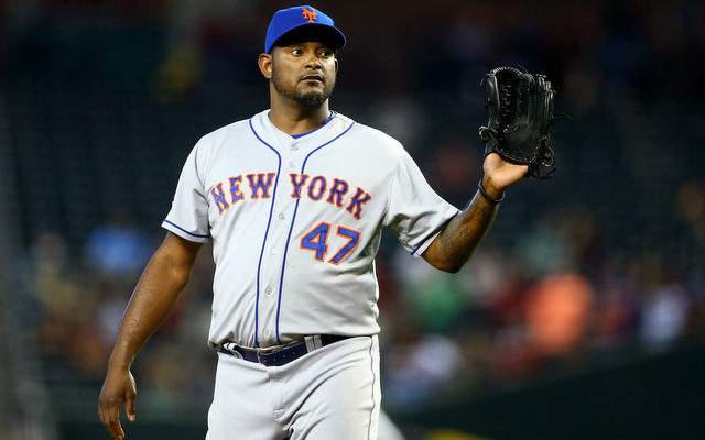 The Mets cut Jose Valverde following Monday's debacle.
