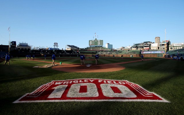 Wrigley Field is still awaiting renovations.