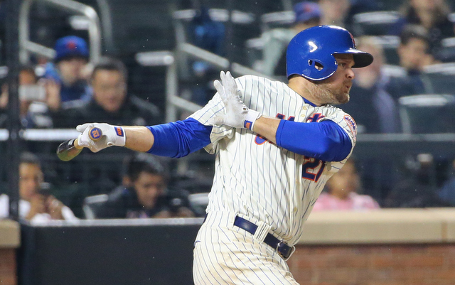 A stomach bug sent Lucas Duda to the hospital on Friday.