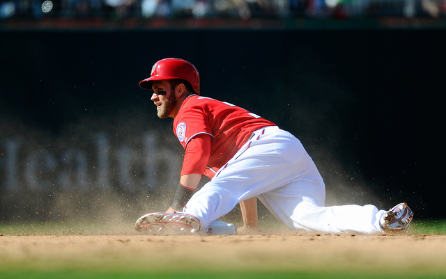 Bryce Harper's season has gone from rocky to disabled list miserable.  (USATSI)