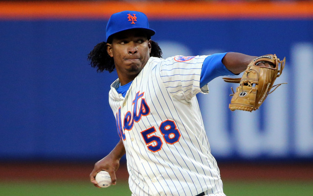 Jenrry Mejia has lost his rotation spot.