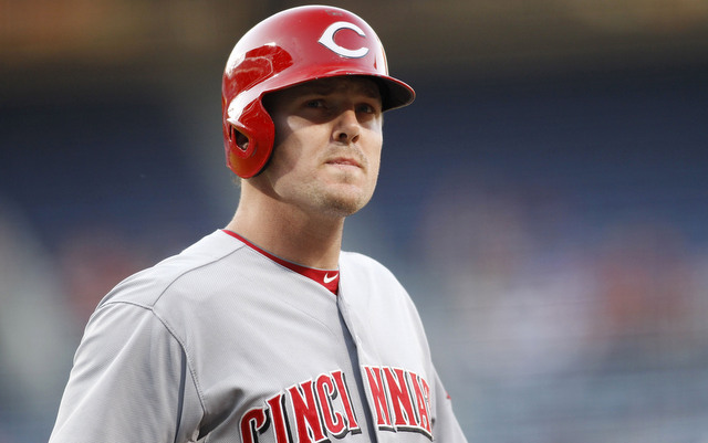 The Reds may soon lose Jay Bruce to knee surgery.