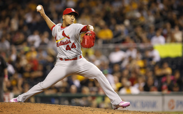 Carlos Martinez will make his first start of the season on Monday.
