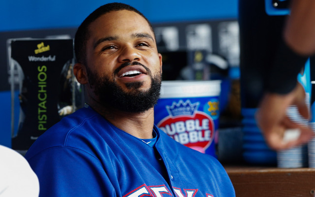 Prince Fielder's consecutive games played streak ended on Saturday.